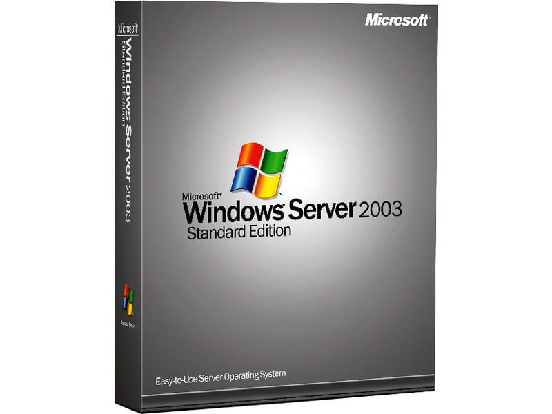 windows server 2003 sp3 64 bit iso