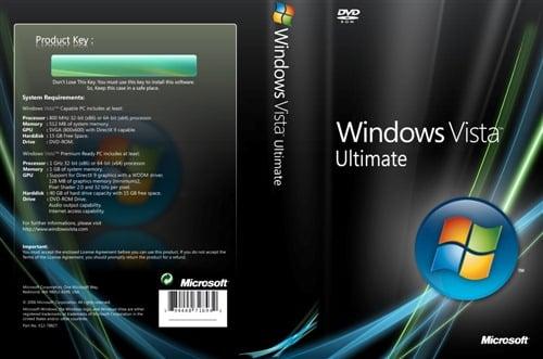 Windows Vista ISO: Download Vista Ultimate SP2 32 bit & 64