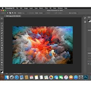 Adobe Photoshop CC 2018 free Download for Mac OS (Full Version)