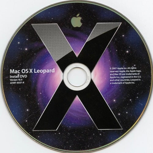 Mac OS X Leopard 10 5 ISO & DMG file Direct Download - ISORIVER