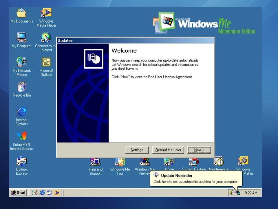 Window 98 with all multimedia Function latest Viersion