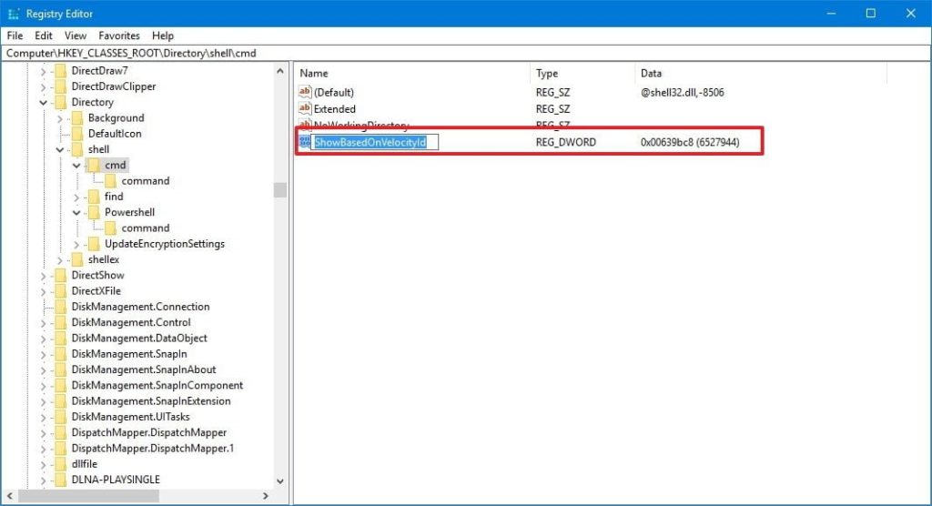 How do I open command prompt in Windows 10 instead of PowerShell
