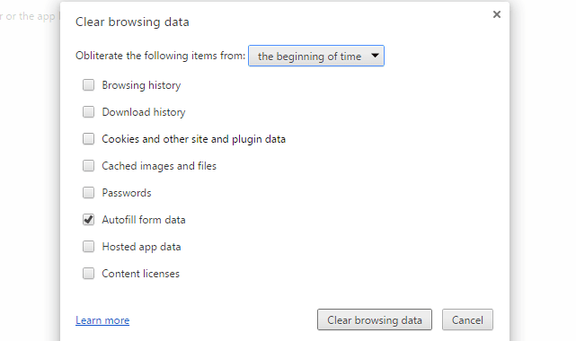 How to Delete Specific Chrome Auto-fill Suggestions
