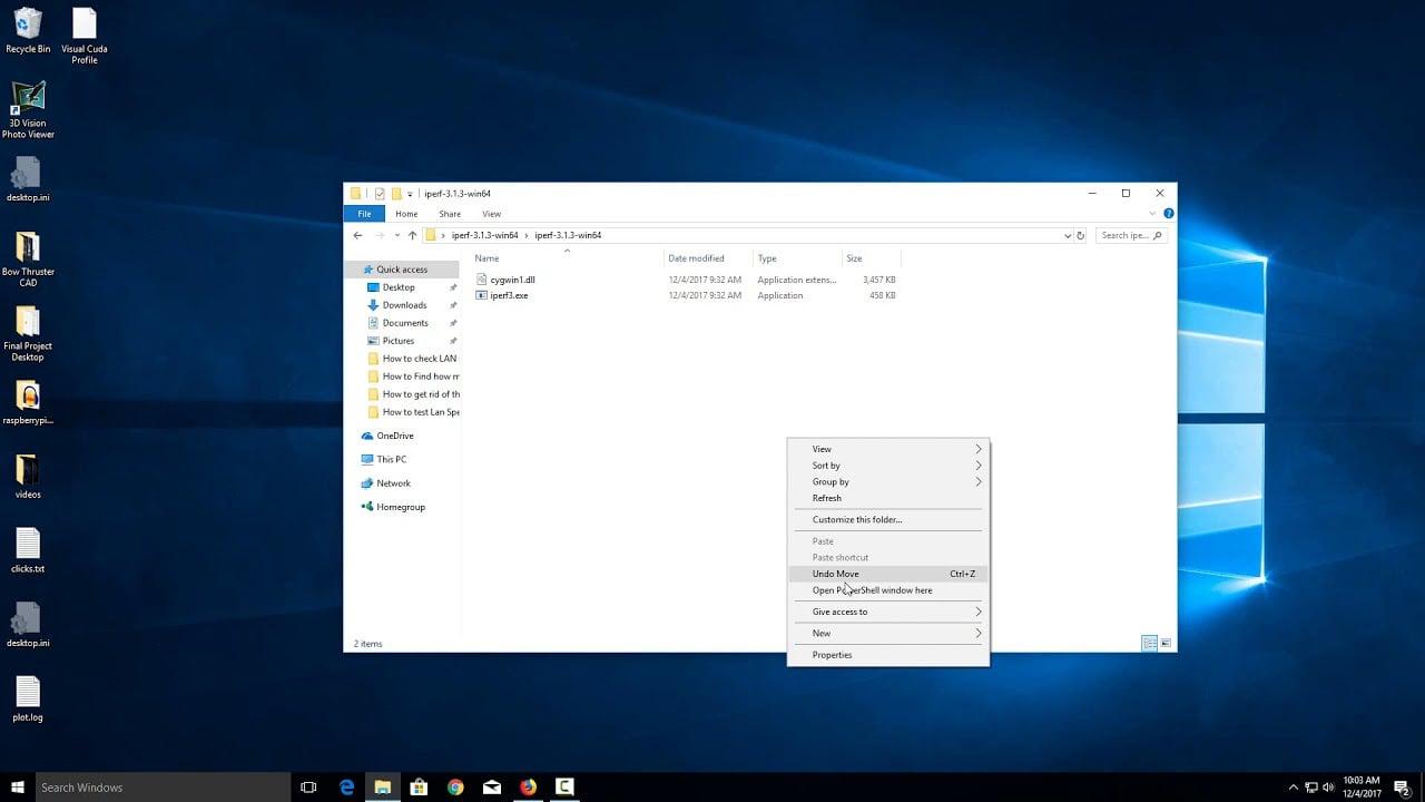 Four ways to open Command Window in a folder in Windows 10.