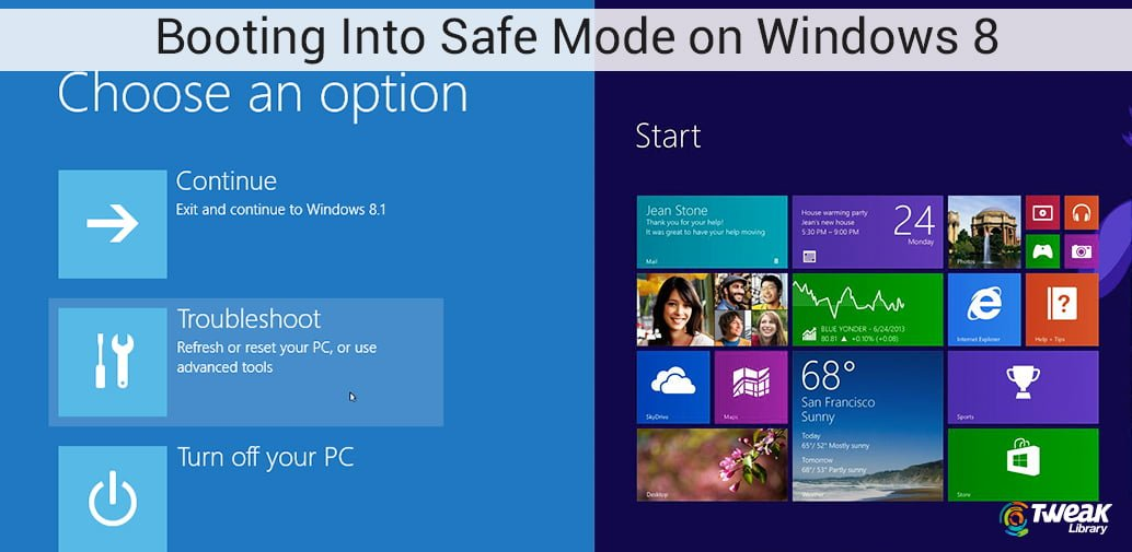 4 Ways to use the Safe Mode in Windows 8/8.1: