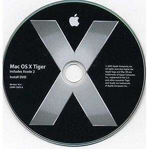 Download Mac OS X Tiger 10.4 ISO / DMG image directly 1