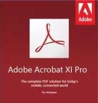 Download Adobe Acrobat XI Pro Full version for Windows 1
