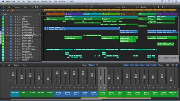Where can you download Logic Pro X for free on Mac