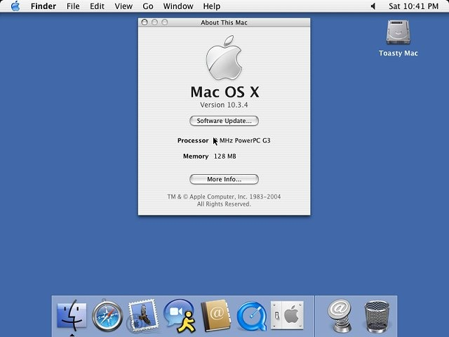 Where can you download Mac OS X 10.3 Panther