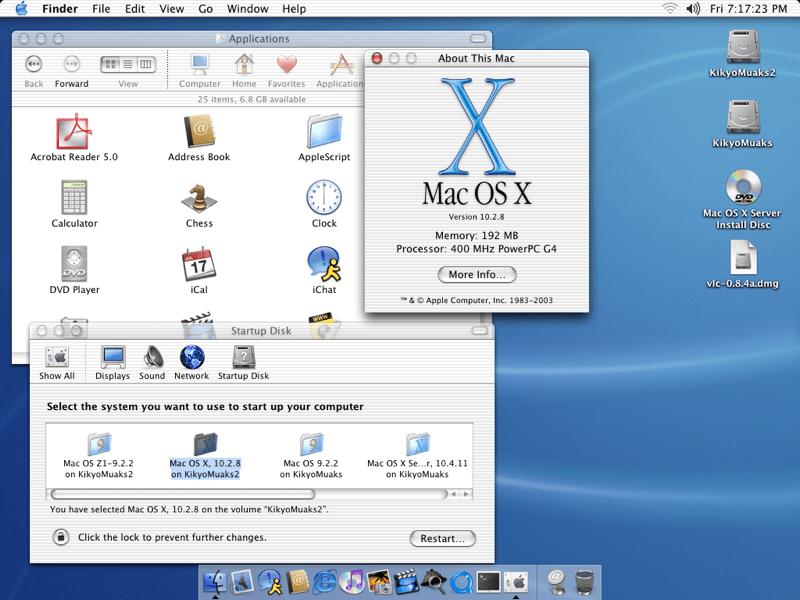 Download Mac OS X 10.3 Panther full version for free