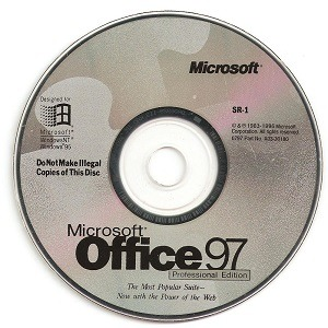 Download Microsoft Office 97 Professional for free 1