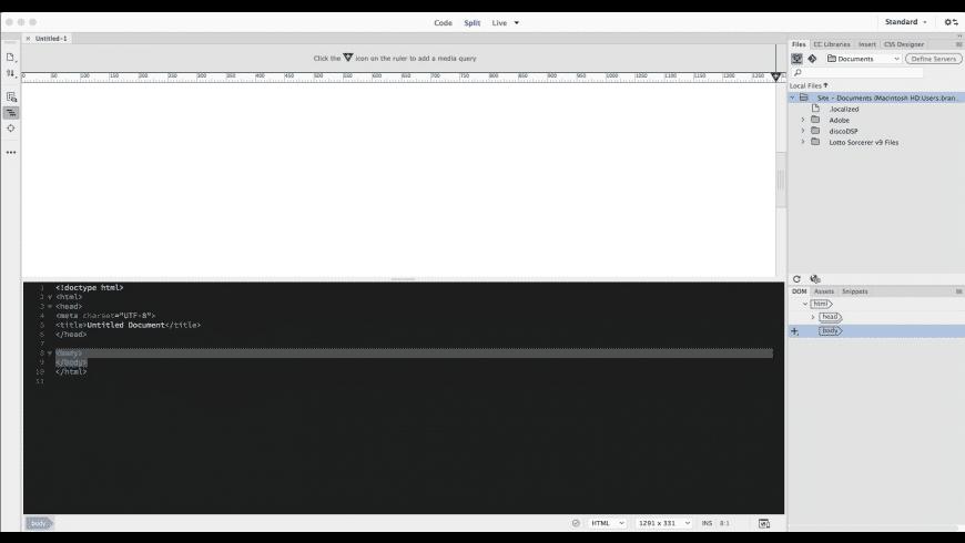 Where can you download Adobe Dreamweaver CC 2020 for Mac