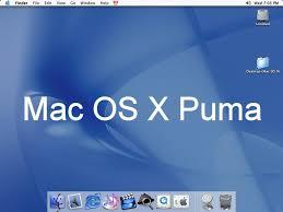 Download Mac OS X 10.1 Puma for free