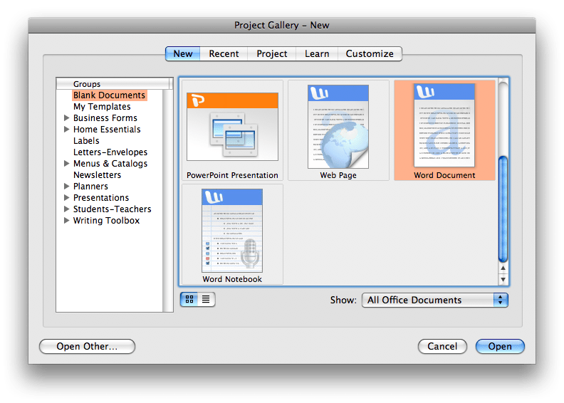 Where can you download Microsoft Office v.X for Mac