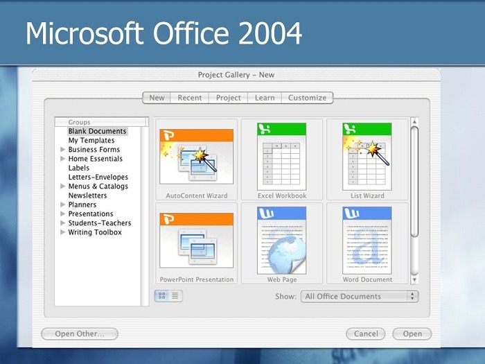 Where can you download Microsoft Office 2004 for Mac