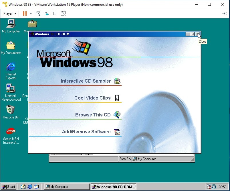 What do you do with a Windows 98 computer
