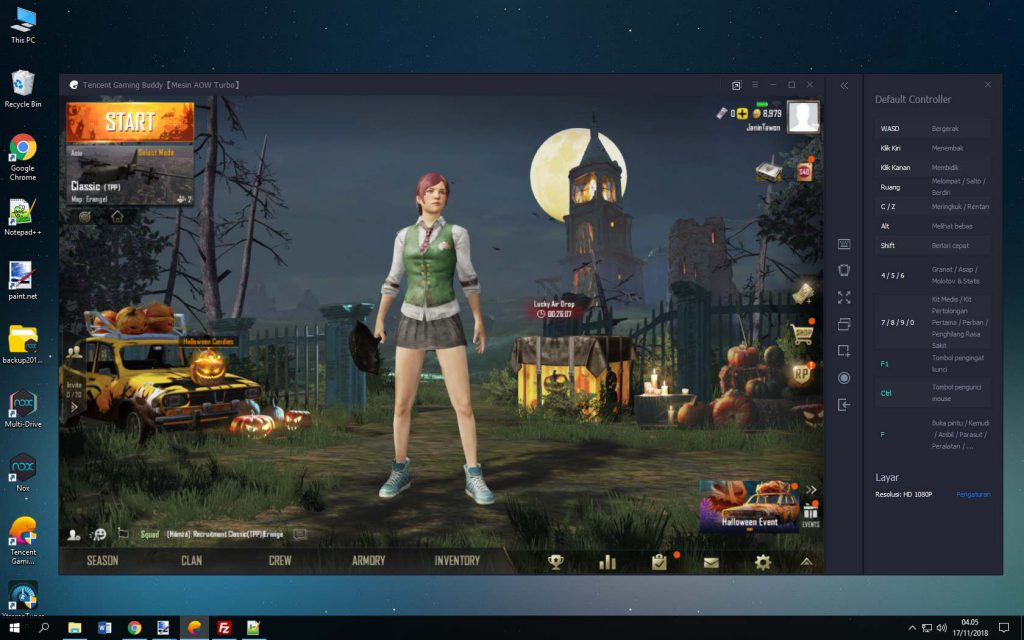 Where can you free download Tencent Gaming Buddy on Windows PC