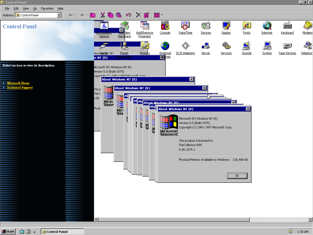 You can download Windows NT 5.0 Workstation ISO