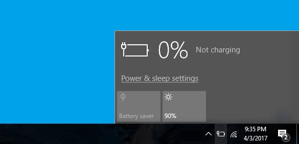 How to fix a Windows 10 laptop that's plugged in but isn't charging