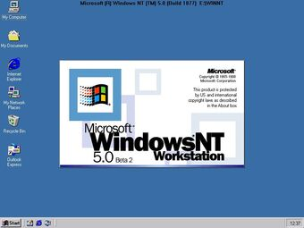 Download Windows NT 5.0 Workstation ISO directly for free
