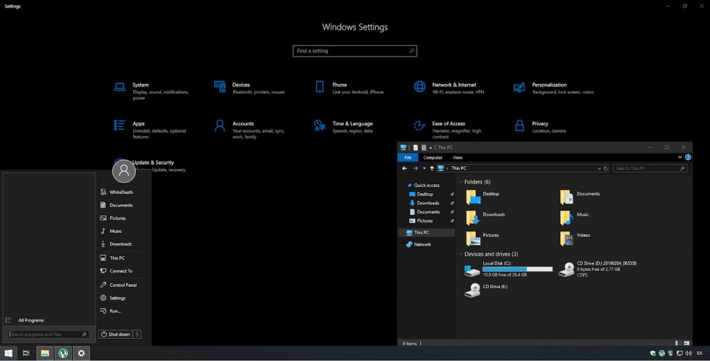 Windows 10 Lite ISO 32 Bit and 64 Bit free download