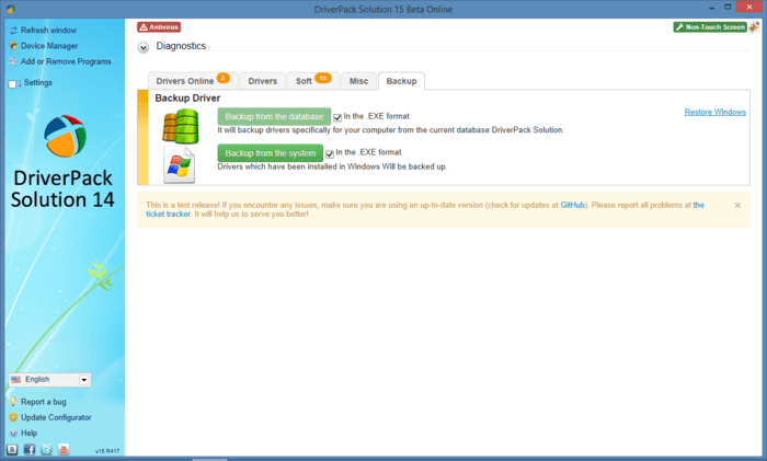 Where can you download Driverpack Solution 14