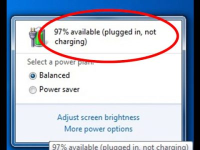 Fixed: Laptop plugged in not charging issue in windows 10