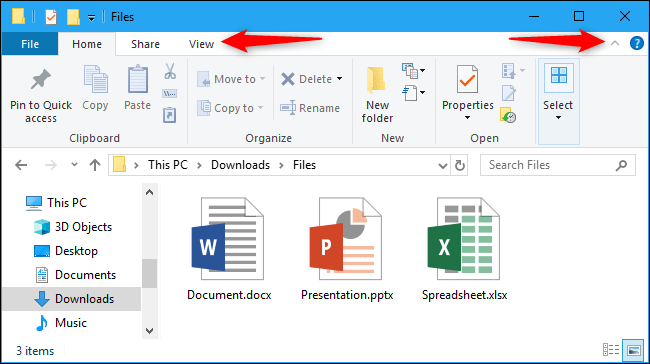 How does the File-Explorer in Windows 10 work in detail