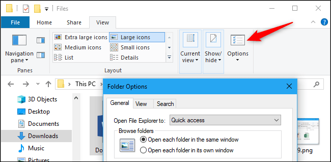 What is the path to the File Explorer in Windows 10