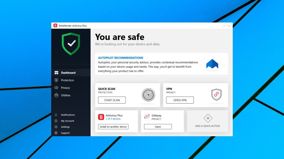 Where can you download BitDefender Antivirus 2020 for Windows