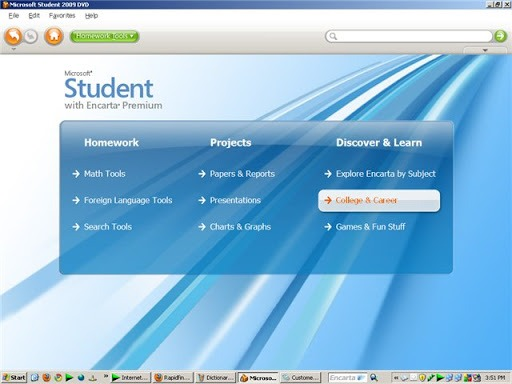 Where can you download Microsoft Student With Encarta Premium 2009 for Windows